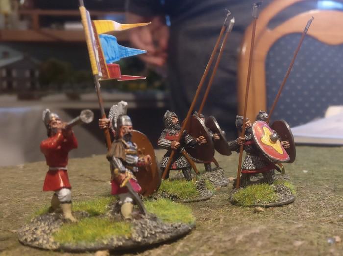 Da hat es noch einen Befehlshaber bei den Byzantinern.