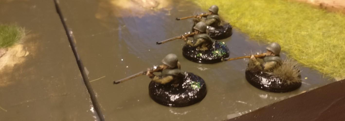 Als ich die Sumpfschleicher erschaffen habe, dachte ich nicht im Traum an deren watende Verwendung am Wolgaufer.