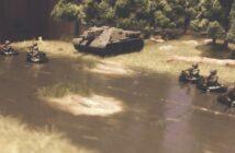 Am Ufer der Wolga: 2 Geländemodule 15cm x 30cm