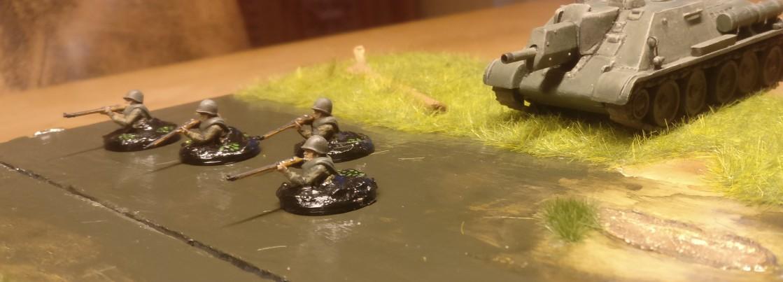 Mit dem SU-122 im Rücken kommt es noch etwas besser...