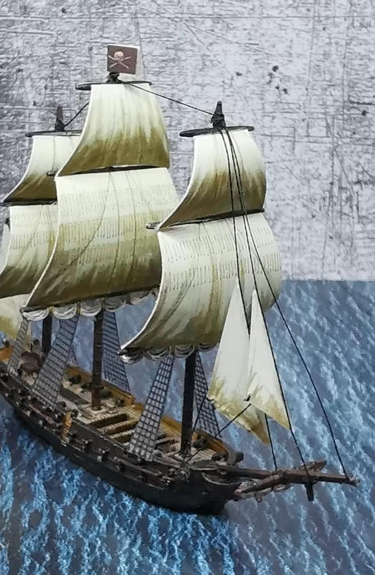 Hier wird gleich eine Breitseite gefeuert Halvarsons Black Seas Navy ist stets kampfbereit.