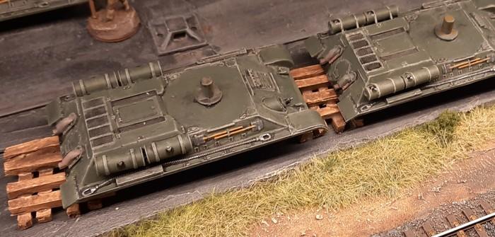 Wannenaufbauten für die T-34/76 der 159. Panzerbrigade
