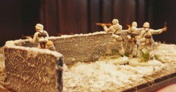 Italeri Stalingrad Tractor Plant: Aufbau der ersten Ebenen-Schicht