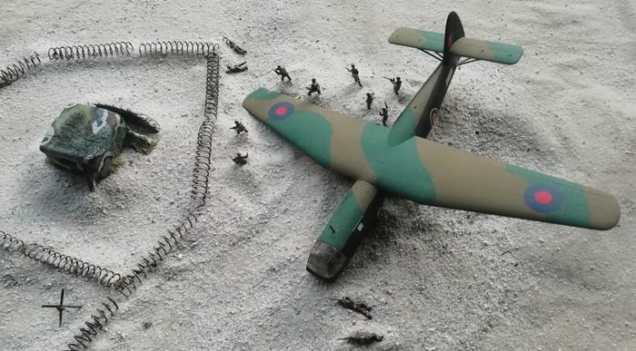 """Der Bunkerkomplex liegt bei Ouistraham Und wenn die Wunderwaffen nicht ausgeschaltet werden, bedrohen Sie die Truppen im Landeabschnitt """"Sword"""" (Foto: NEWOOD)"""