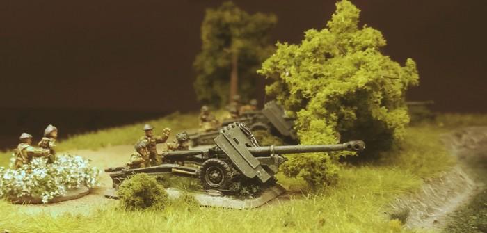 Ordnance QF 17-pounder 76mm Towed Anti-Tank (AT) Gun von Flames of War