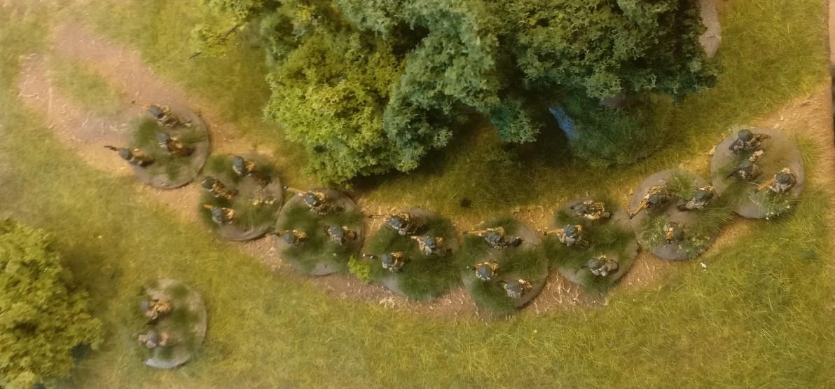 Das 1st Infantry Platoon meiner PBI British Rifle Company.
