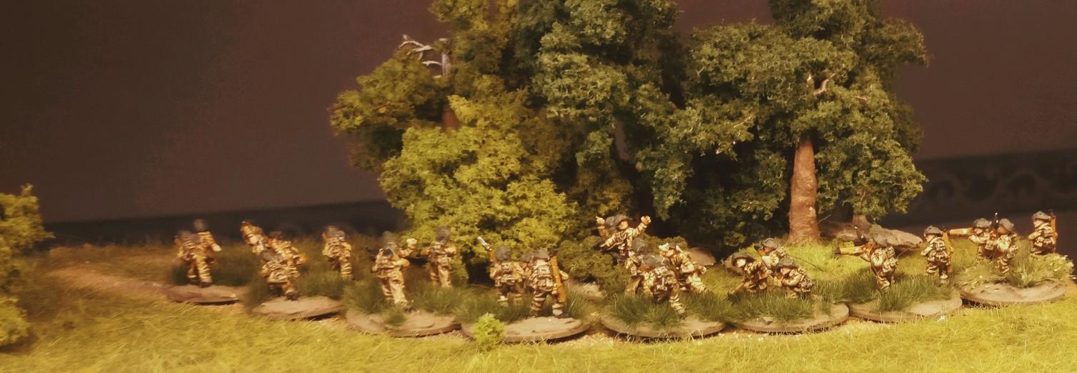 Das 3rd Infantry Platoon meiner PBI British Rifle Company.
