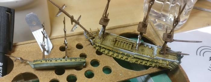 Mit diesen beiden Schiffen testete Mark die Wirkung verschiedener Contrast Colors, bevor er in die Großserie überging.