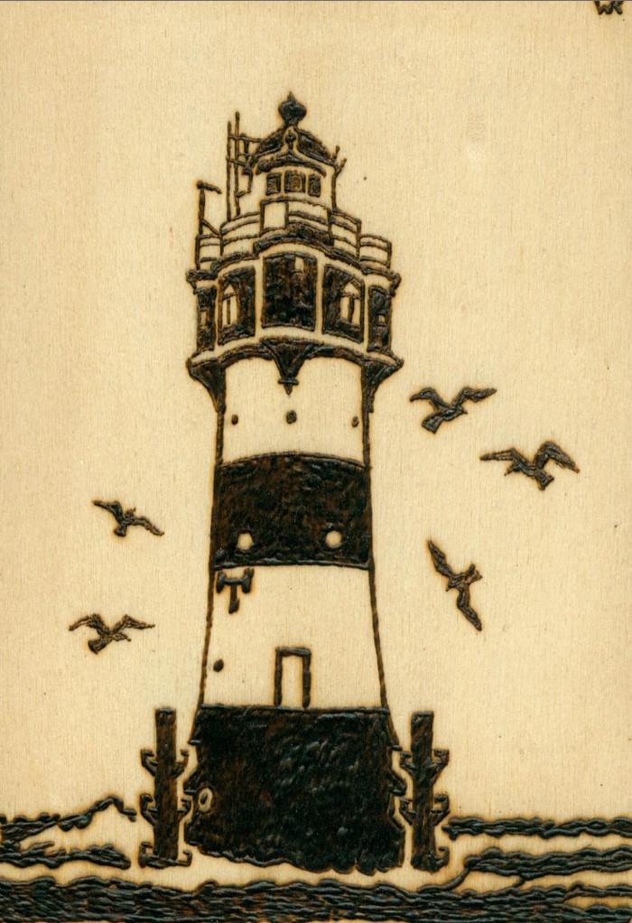 Der Leuchtturm Roter Sand in der Deutschen Bucht aus dem Jahr 1885. Ein Must-Have für alle Black Seas Spieler...