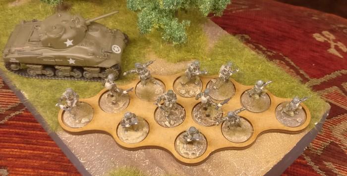12-Slot-Movement-Trays von Warbases