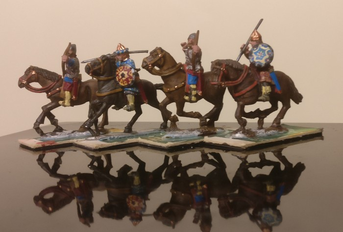 Die Athanatoi, die Unsterblichen in XENAs Byzantiner SAGA-Armee.