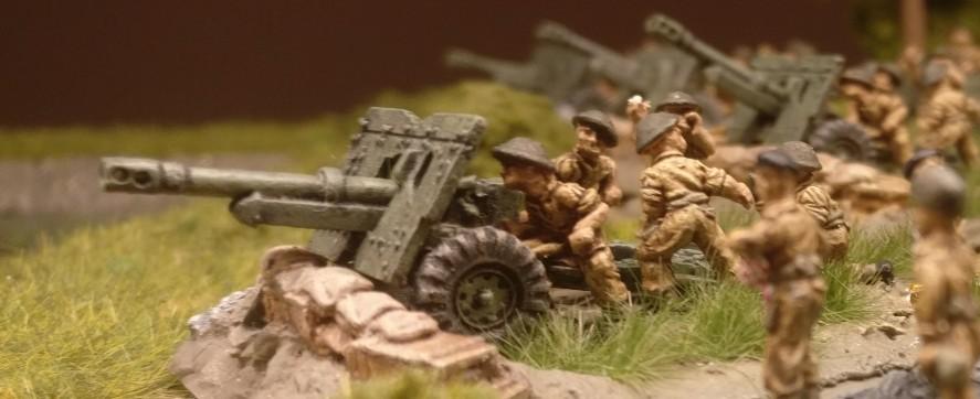 SOOOOO sieht Artillerie aus.