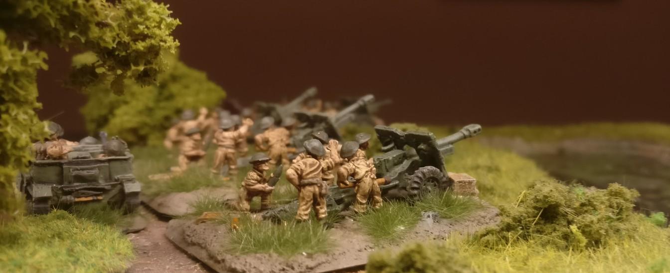 Die Royal Artillery Battery von der anderen Seite.