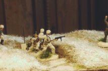 Italeri Stalingrad Tractor Plant: Grundieren der Module