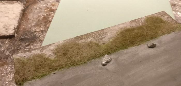 Hier wurde PONAL-Leimwasser aufgetragen.