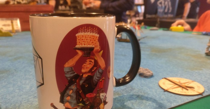 Spieltisch Black Seas auf dem Cave Con 2020 in Aschaffenburg
