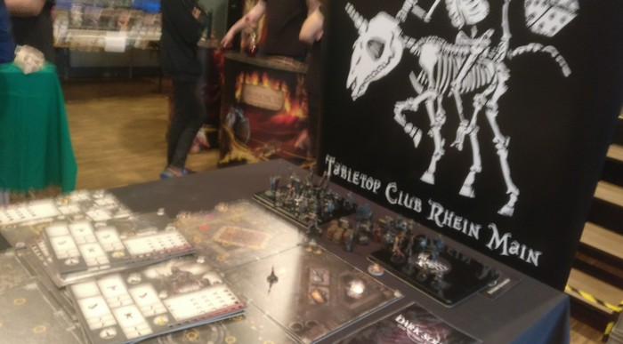 Der Tabletop Club Rhein Main stellte Dark Souls - The Board Game von Steamforged Games Ltd vor.