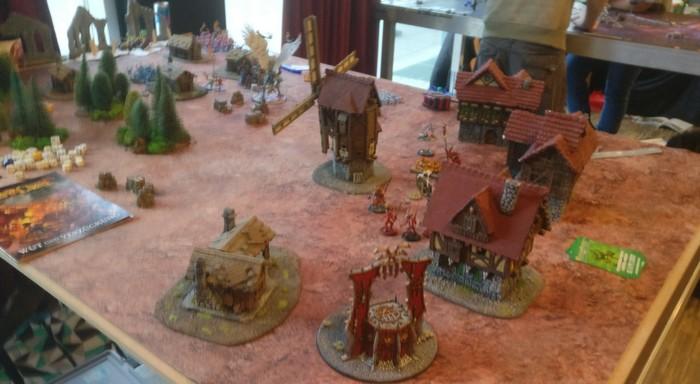 Spieltisch Realm of Chaos auf dem Cave Con 2020 in Aschaffenburg