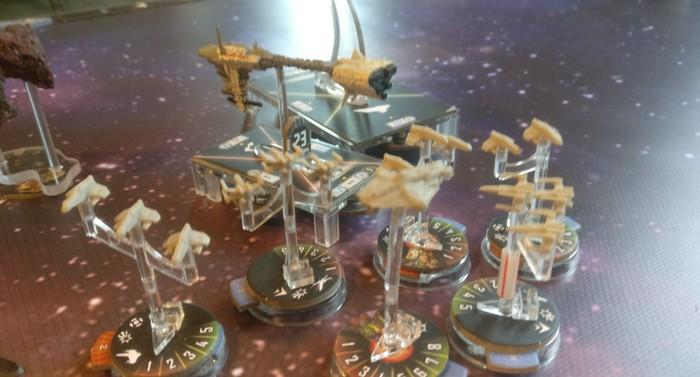 Spieltisch Star Wars auf dem Cave Con 2020 in Aschaffenburg