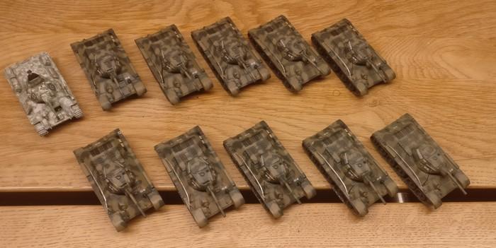 Mein 1. Panzerkorps rekrutiert: DeAgostini T34/76.