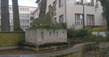 Einhorn-Brunnen Darmstadt