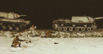 Eisschollen auf der Wolga