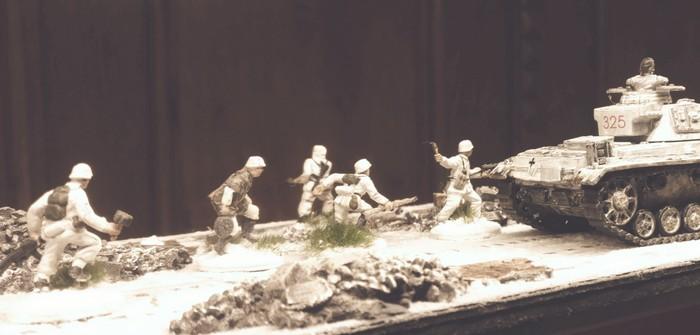 Italeri Stalingrad Tractor Plant: Oberflächengestaltung