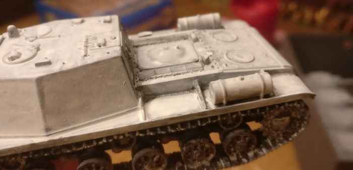 Hier zeigen sich die Ecken des Pegasus SU-152 als überarbeitungswürdig.