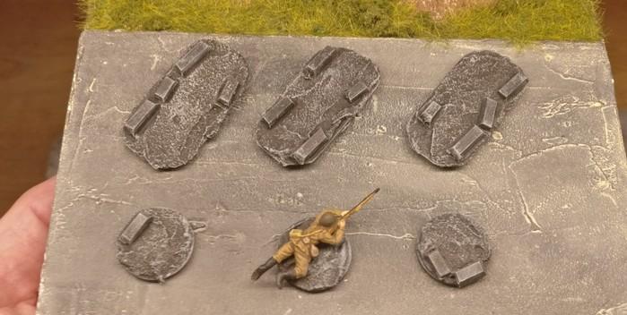 Einige der Bases deuten darauf hin, dass die Schützen zur 10. NKWD Division versetzt werden.