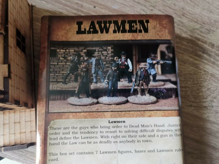 Lawmen... These are the guys that bring  order...