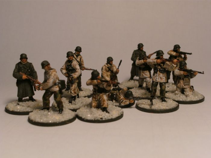 Die Bolt Action German Grenadiers in Winter Gear will der Honischer abgeben.