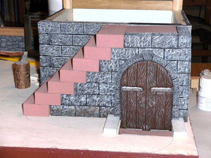 Der Eingang zum Keller nochmal im Details, Honischers Freebooters Fate Platte