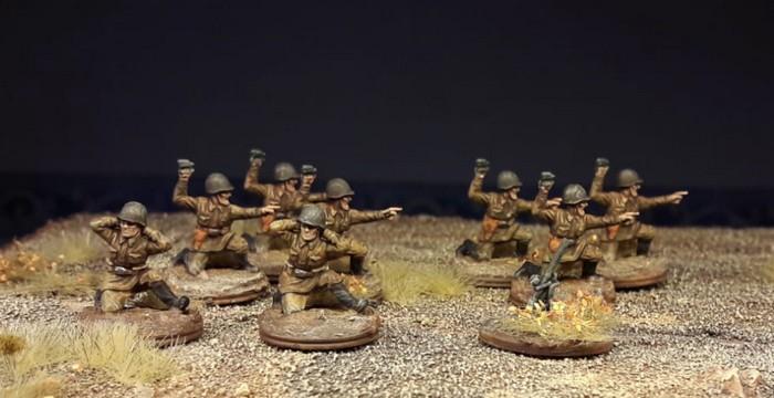 """Die NCO's geben den Ton an: """"Dort sind die Faschisten!"""""""
