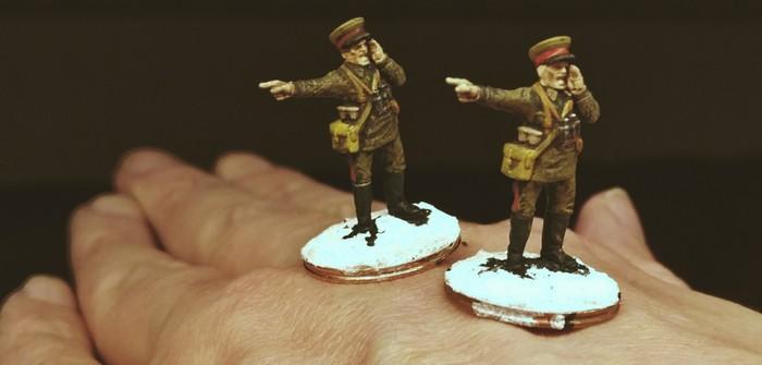 Offiziere und Funker: Nachschub für Sturmis Rote Armee