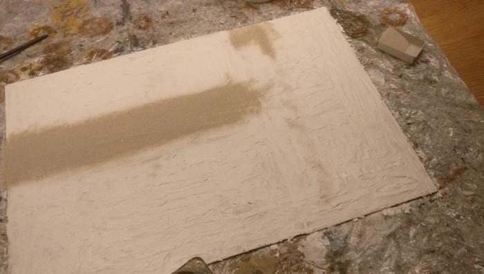Die Straßen sind mit feinem Chinchilla-Sand aufgestreut.