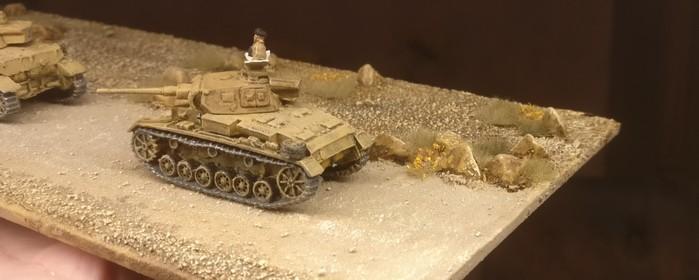 Und nochmal der Panzer III.