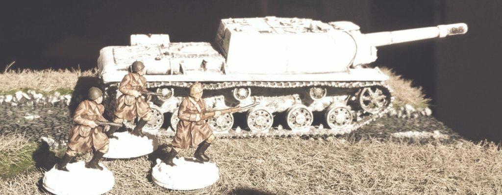 Hier Fotos vom ersten Manövereinsatz mit Siberian Rifle Men...