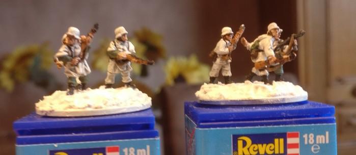 Zwei Rifle Foot Groups der 94. Infanterie Division.