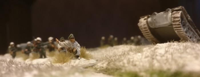 Der Platoon Commander des Infanterie-Regiment 267.