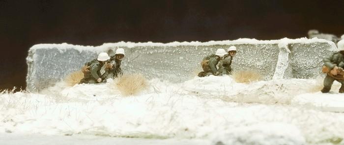 Die beiden LMG-Groups des Infanterie-Regiment 267.
