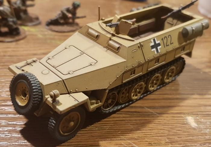 Der fertige Sd.Kfz. 251/1