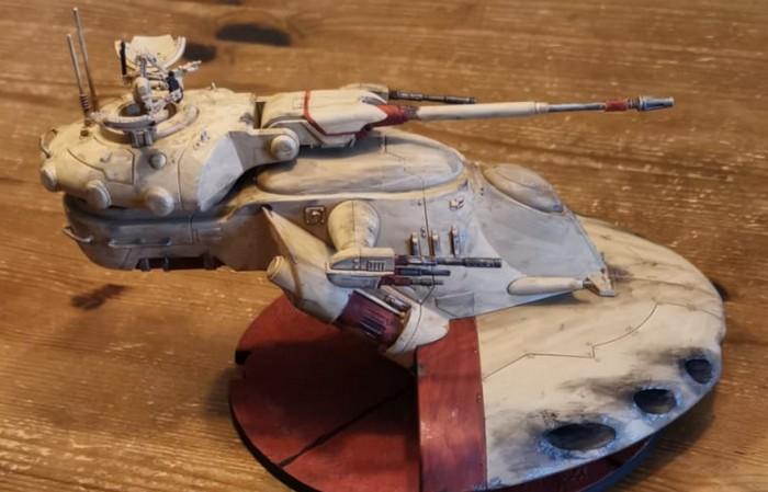 Halvarsons Tribute to Star Wars: der Armored Assault Tank (AAT-1 oder AAT)