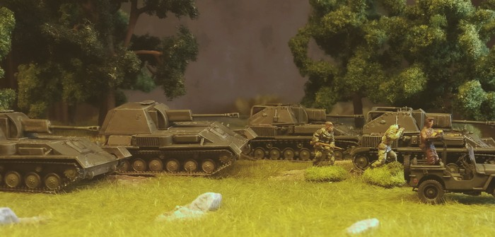 Eaglemoss SU-76 M Soviet Self-Propelled Howitzer