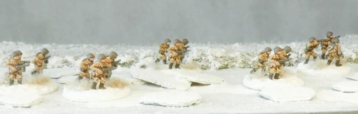 Das SMG Platoon von FoW übte auch an der Wolga...