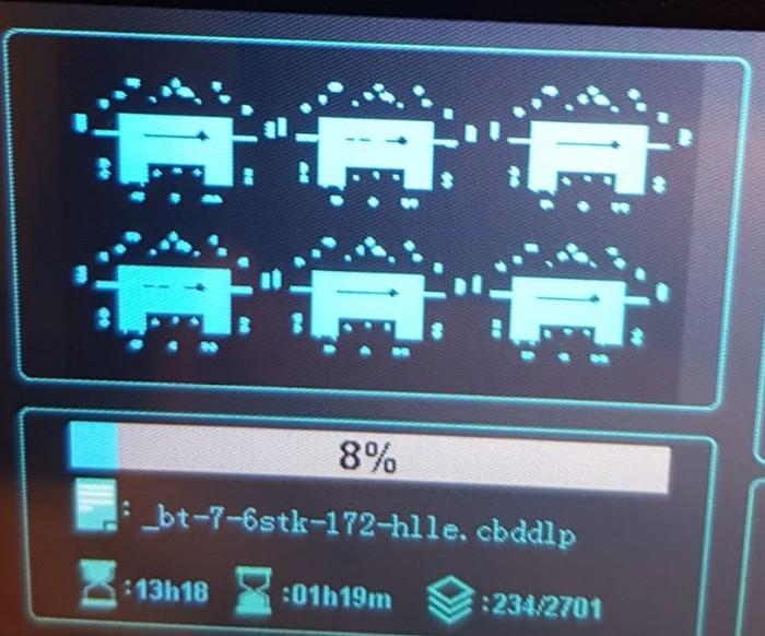 Die erste Panzerserie für die Rote Armee waren BT-7. Hier der Konfigurationsbildschirm auf der Software für den 3D-Drucker.