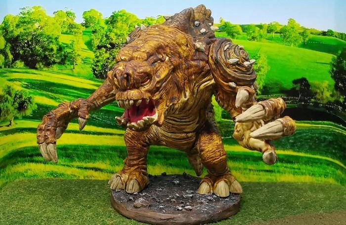 """Das SAGA-Monster vom Halvarson. Es soll auf den Namen """"Mausezahn"""" hören, hat man mir gesagt."""