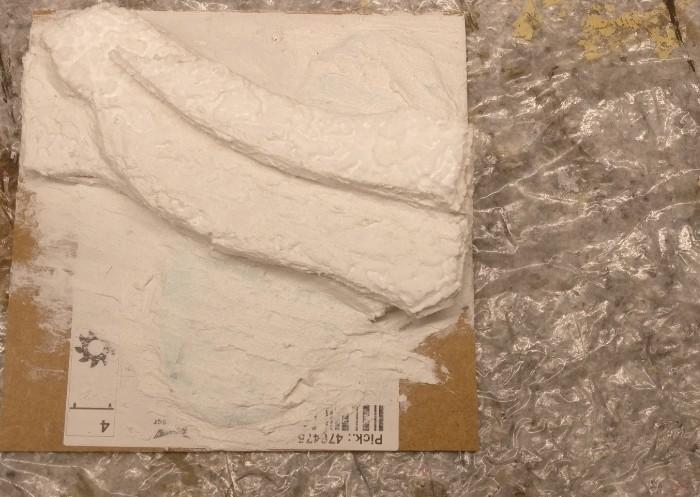 Das kleinere Terrain Tile wird analog bestückt.