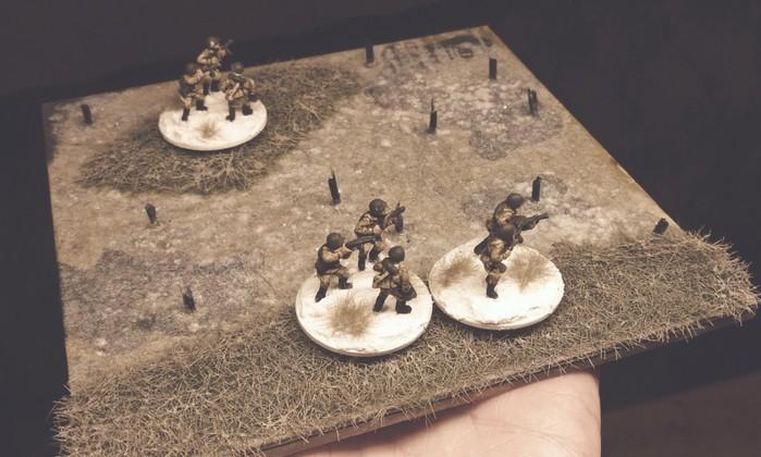 Eine erste Begehung mit Truppen der stürmischen roten Armee ergab die Tauglichkeit...