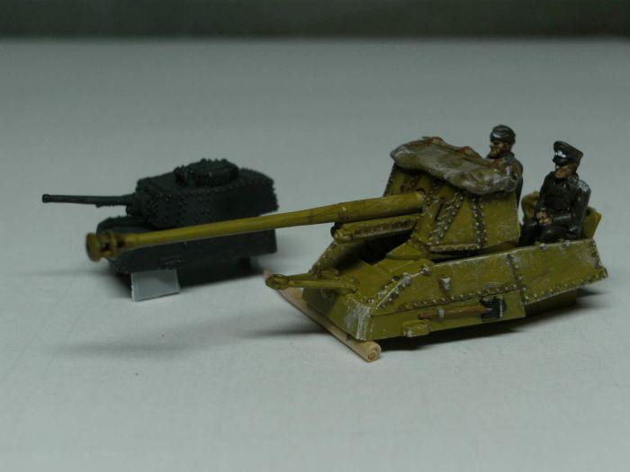 Die Aufsätze: Panzerturm 38(t) und PaK 7,62cm vom Sd.Kfz. 139