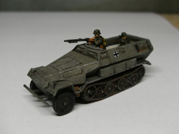 Das Sd.Kfz. 251/1 Ausführung B